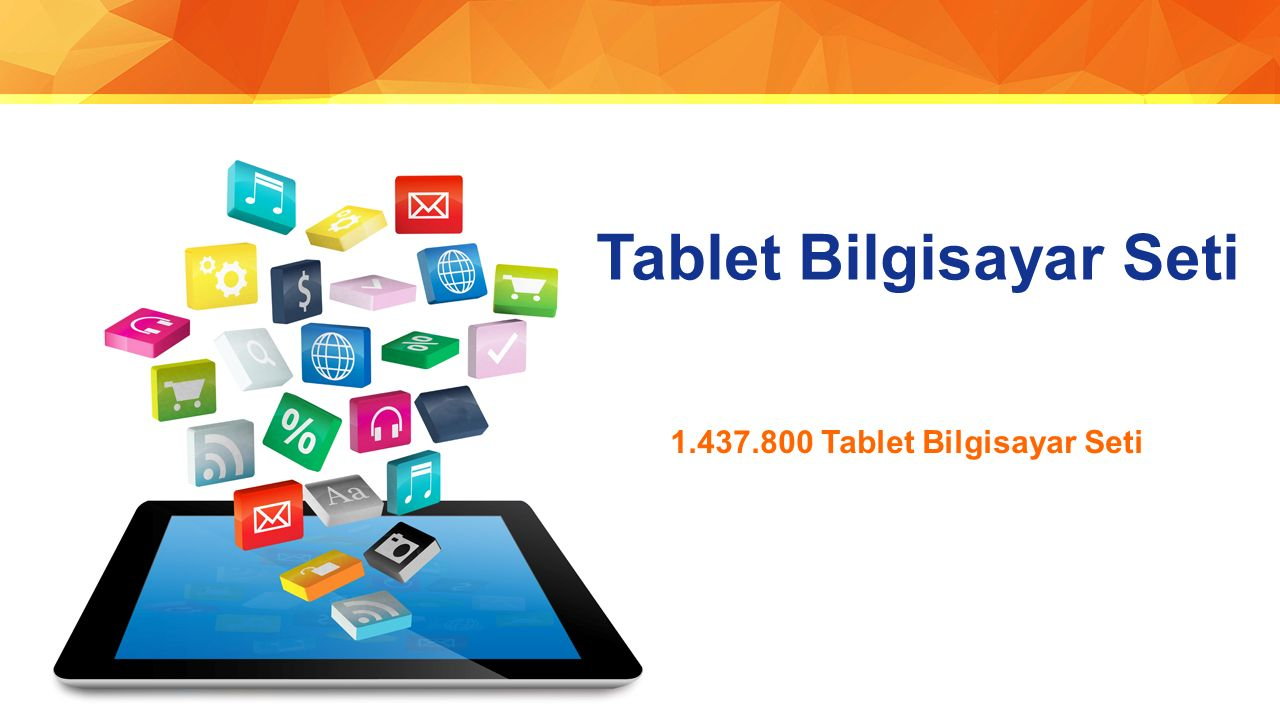 Tablet Bilgisayar Seti