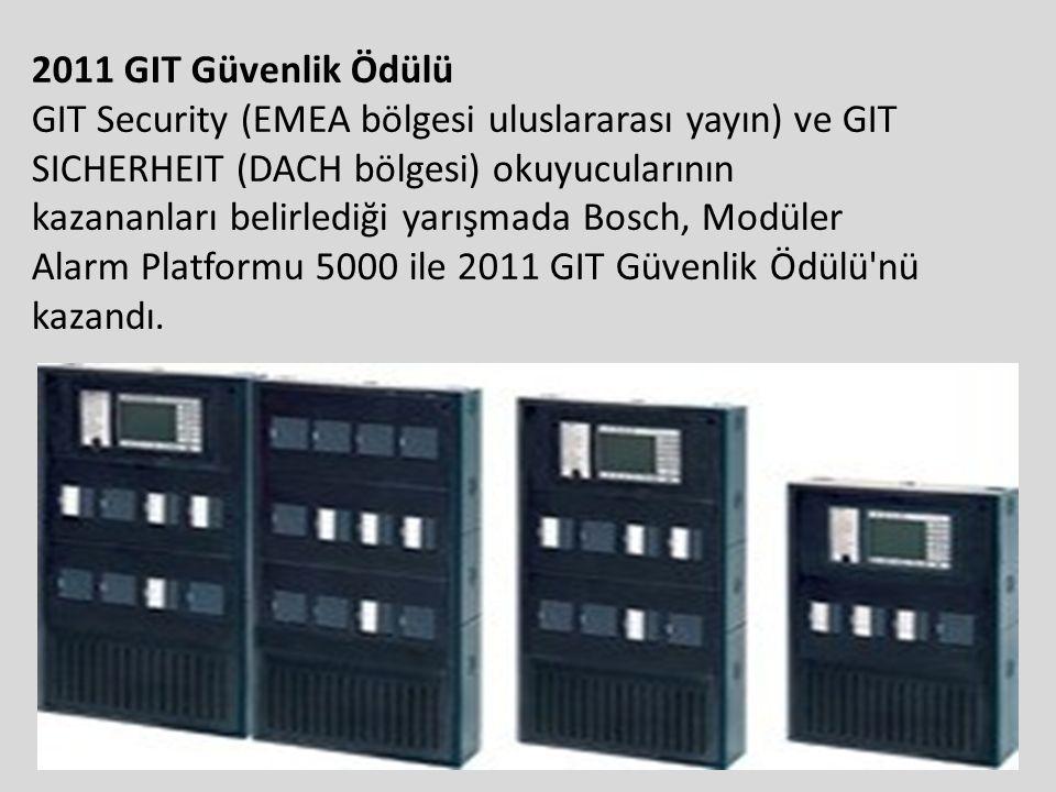 2011 GIT Güvenlik Ödülü