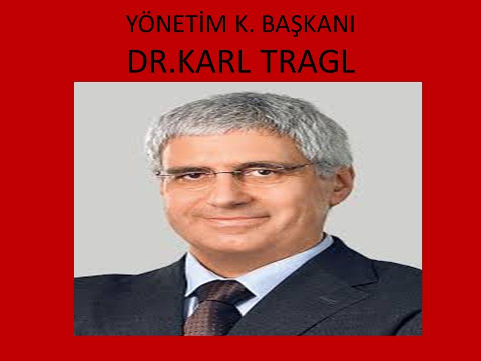 YÖNETİM K. BAŞKANI DR.KARL TRAGL