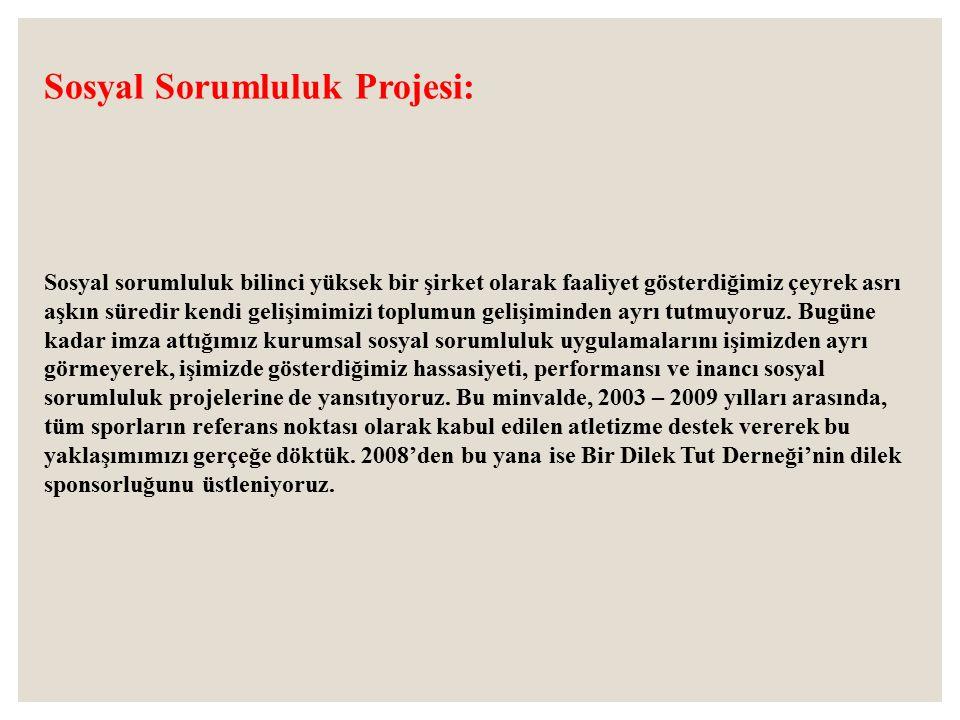Sosyal Sorumluluk Projesi: