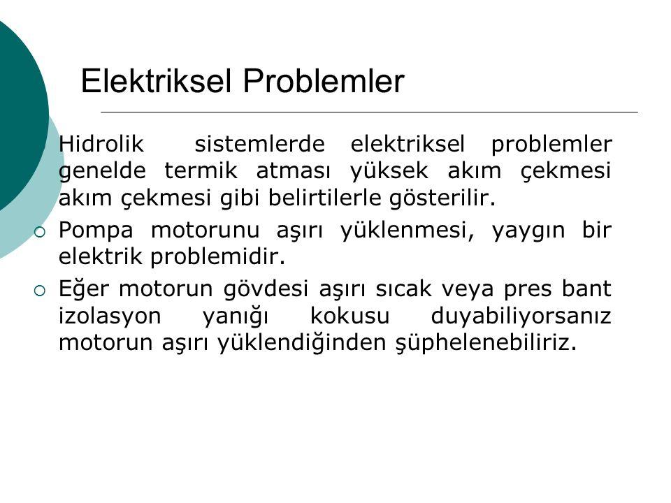 Elektriksel Problemler