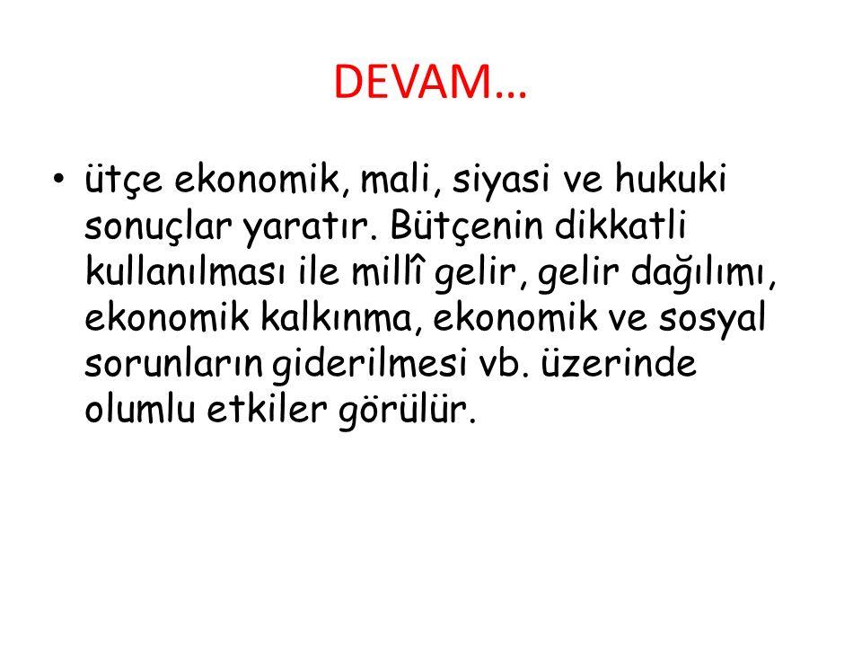 DEVAM…