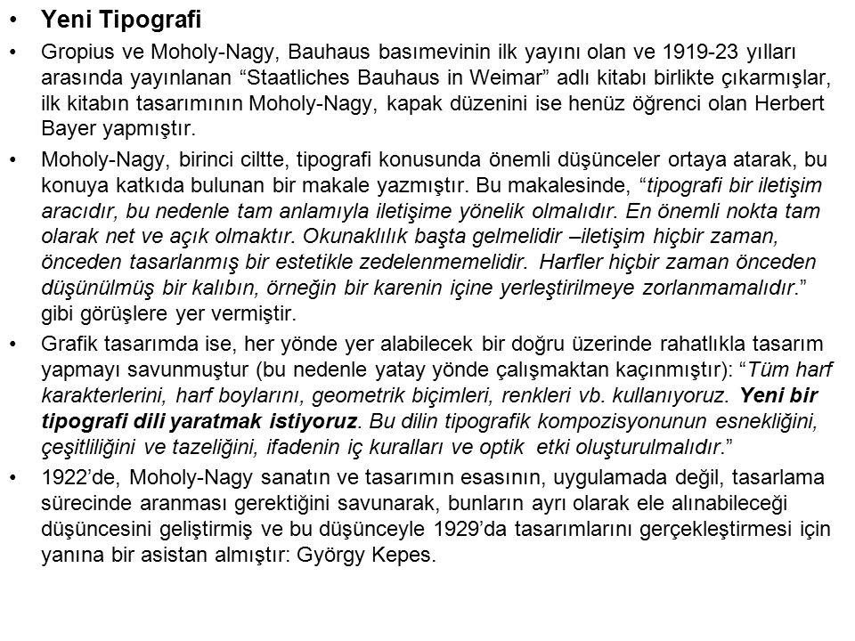 Yeni Tipografi