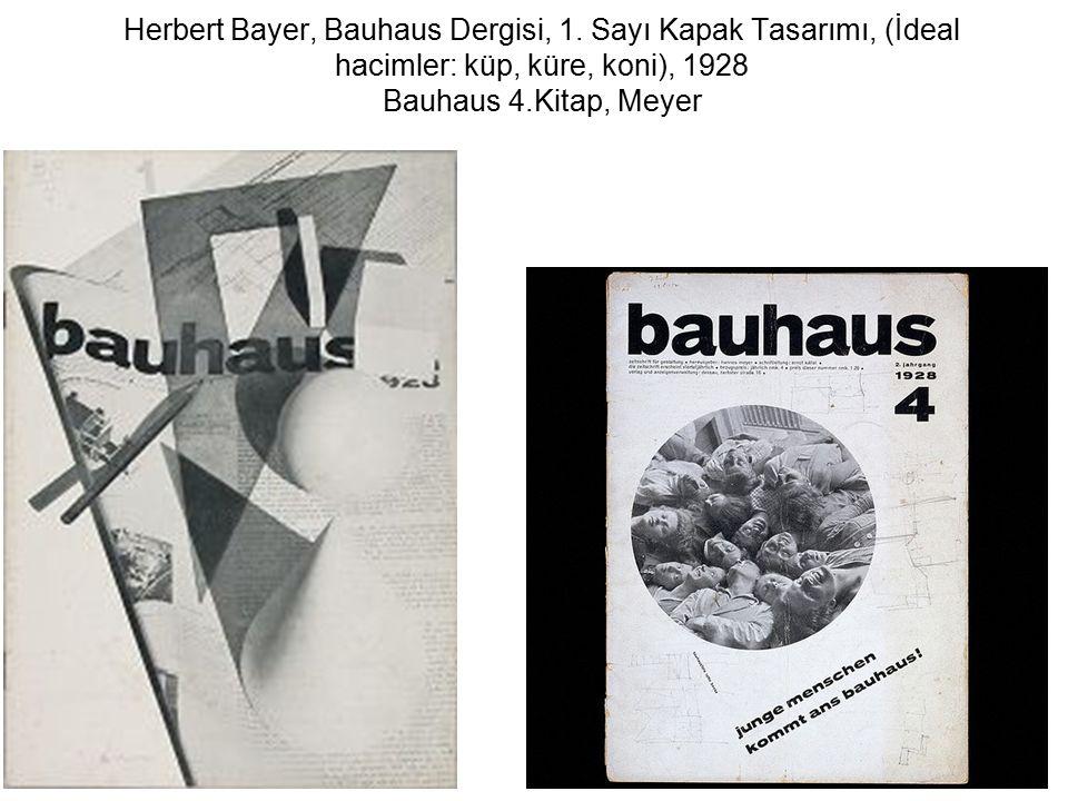 Herbert Bayer, Bauhaus Dergisi, 1