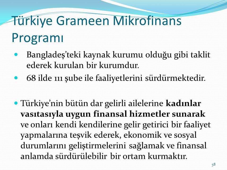 Türkiye Grameen Mikrofinans Programı