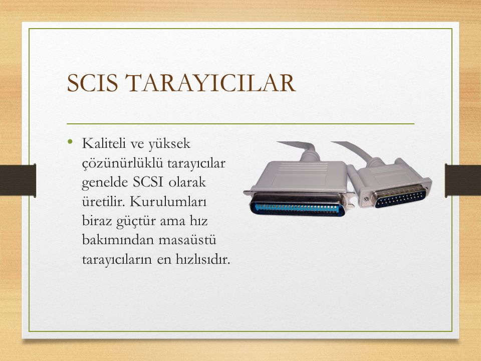 SCIS TARAYICILAR