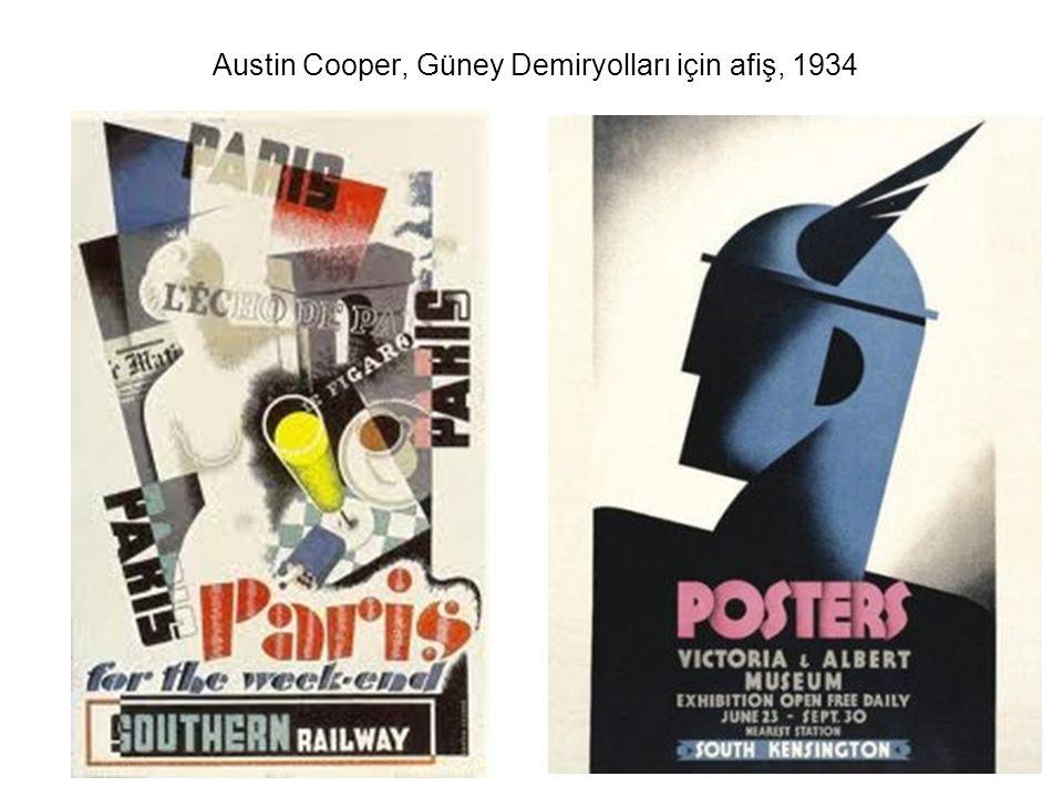 Austin Cooper, Güney Demiryolları için afiş, 1934