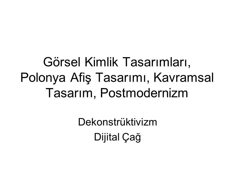 Dekonstrüktivizm Dijital Çağ