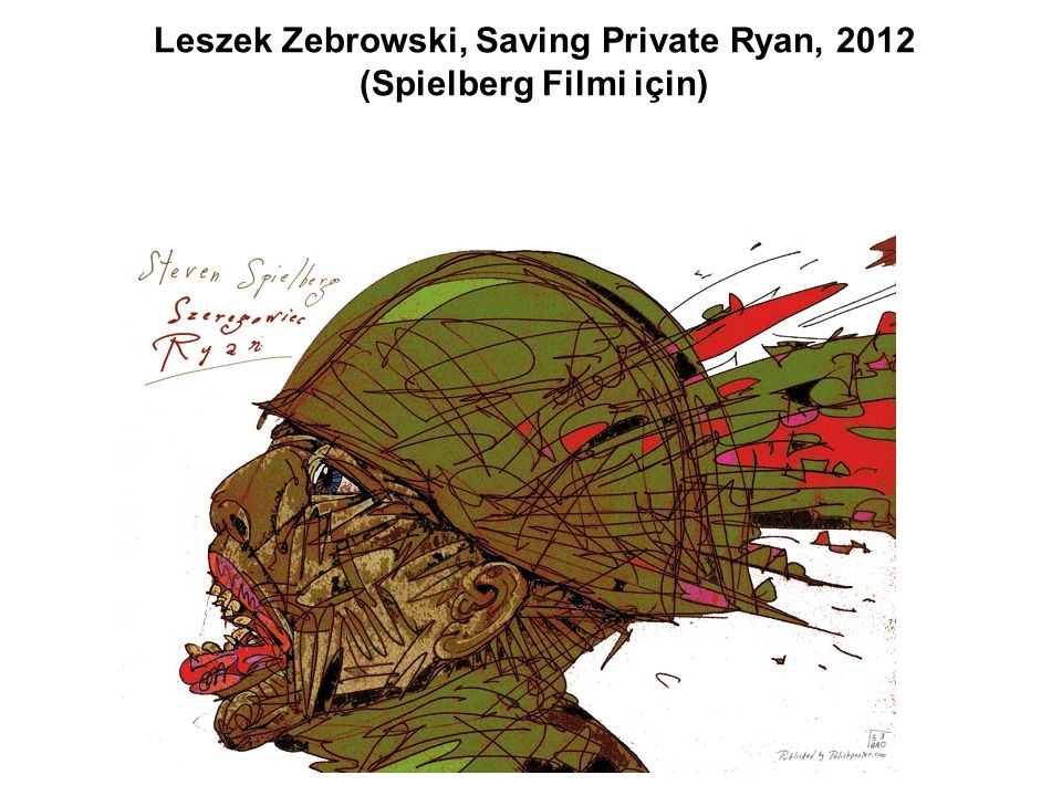 Leszek Zebrowski, Saving Private Ryan, 2012 (Spielberg Filmi için)