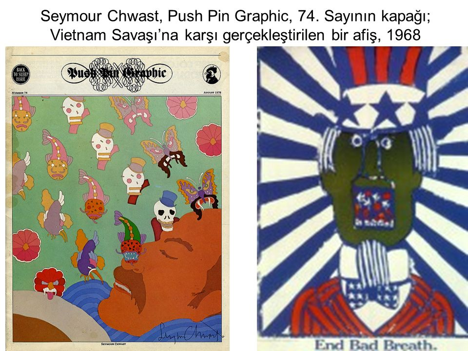 Seymour Chwast, Push Pin Graphic, 74