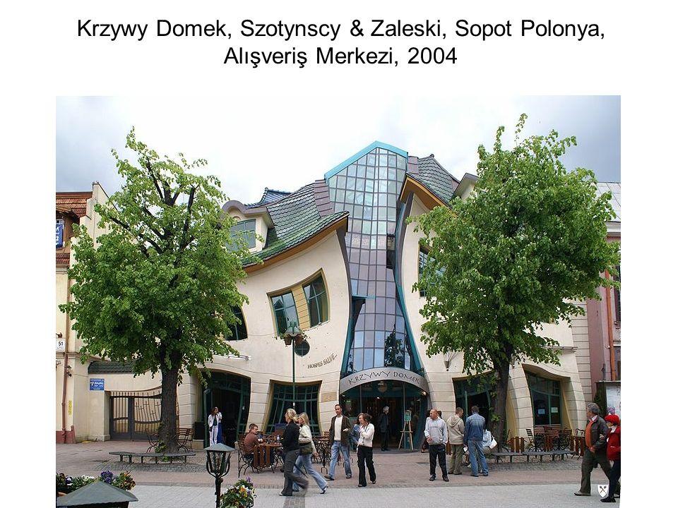 Krzywy Domek, Szotynscy & Zaleski, Sopot Polonya, Alışveriş Merkezi, 2004