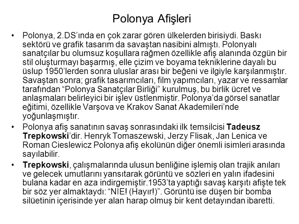 Polonya Afişleri