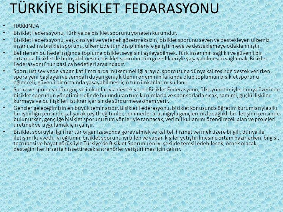 TÜRKİYE BİSİKLET FEDARASYONU