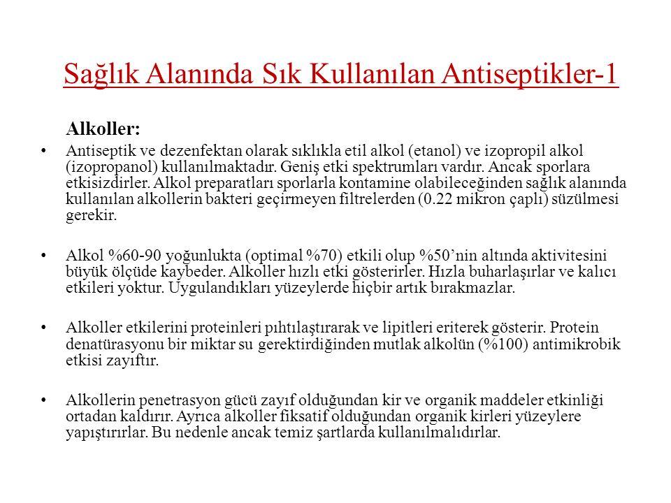 Sağlık Alanında Sık Kullanılan Antiseptikler-1