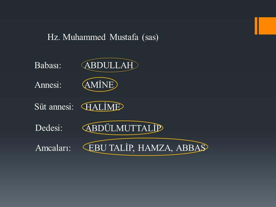 Hz. Muhammed Mustafa (sas)