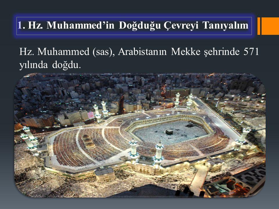 1. Hz. Muhammed'in Doğduğu Çevreyi Tanıyalım