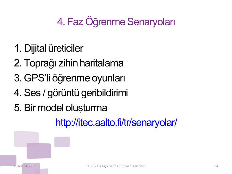 4. Faz Öğrenme Senaryoları