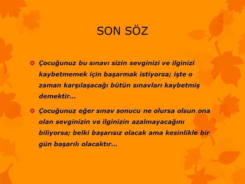 SON SÖZ