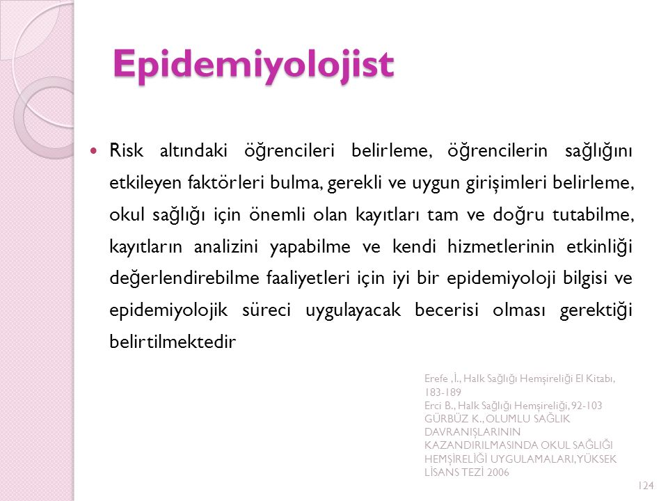 Epidemiyolojist