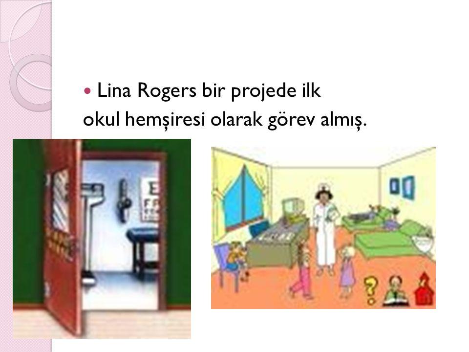 Lina Rogers bir projede ilk