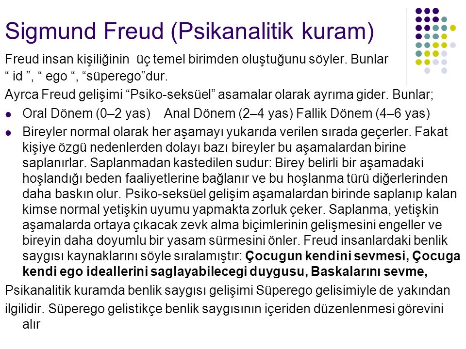 Sigmund Freud (Psikanalitik kuram)