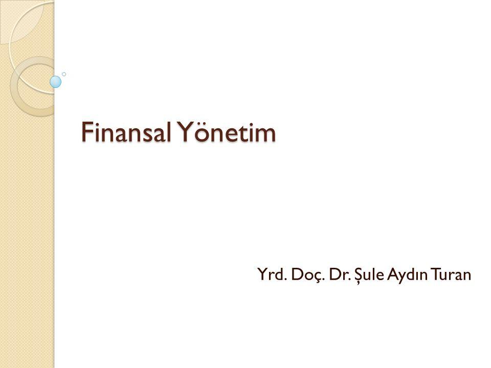 Yrd. Doç. Dr. Şule Aydın Turan