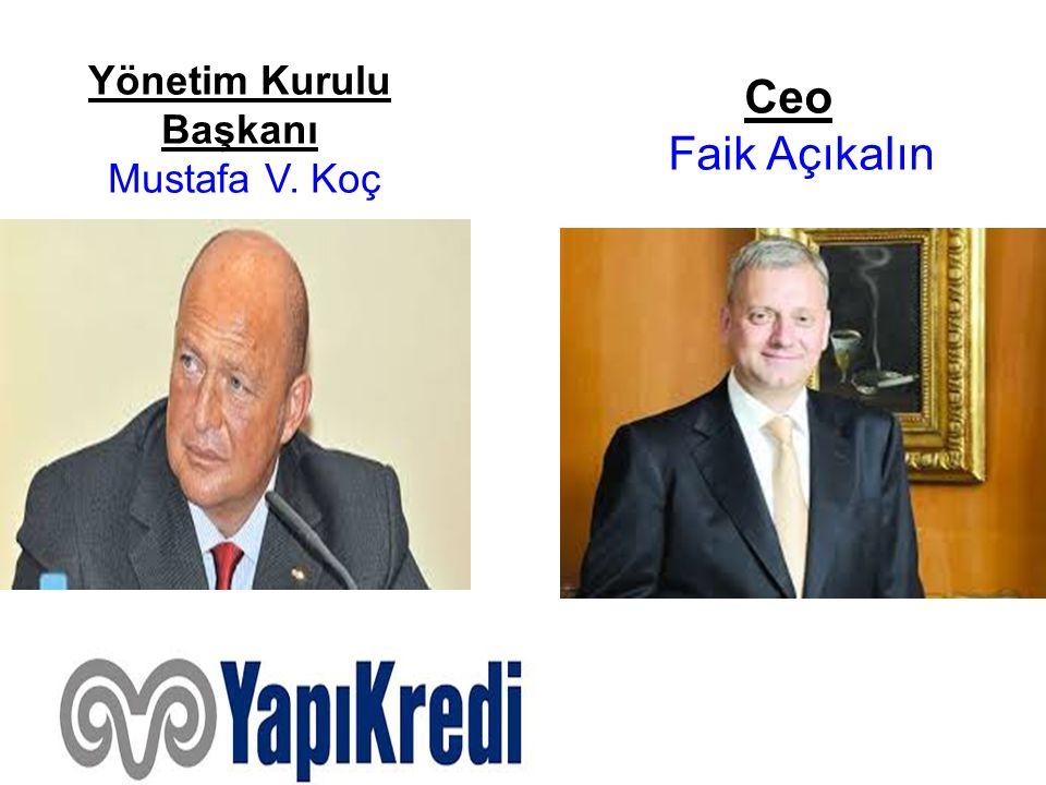 Yönetim Kurulu Başkanı Mustafa V. Koç
