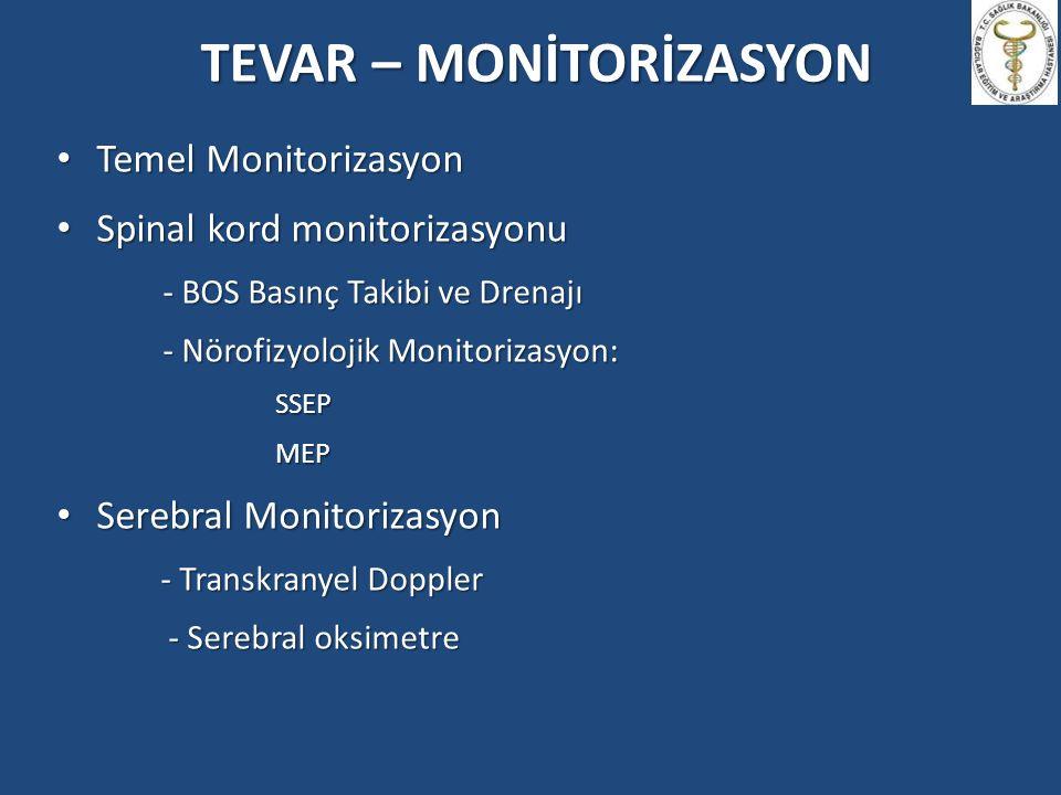 TEVAR – MONİTORİZASYON