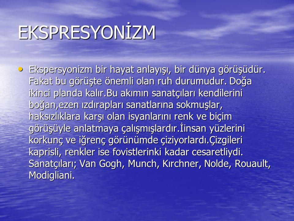 EKSPRESYONİZM