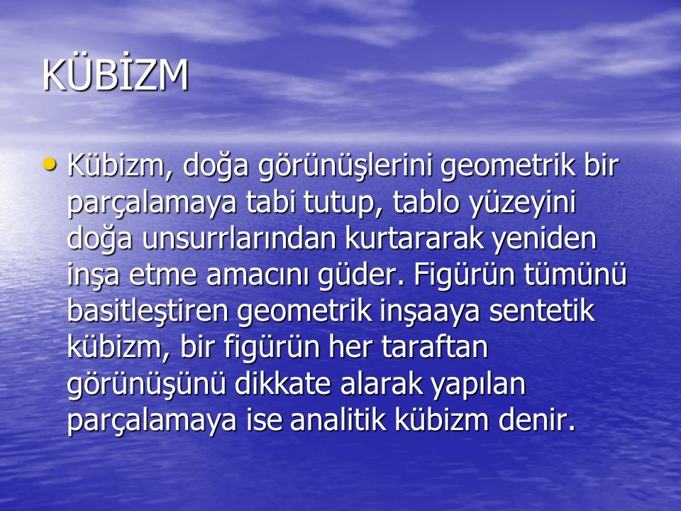 KÜBİZM