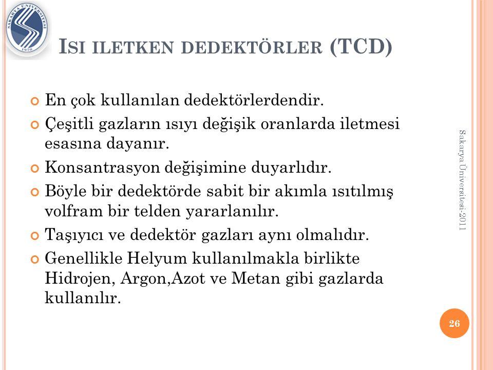 Isi iletken dedektörler (TCD)