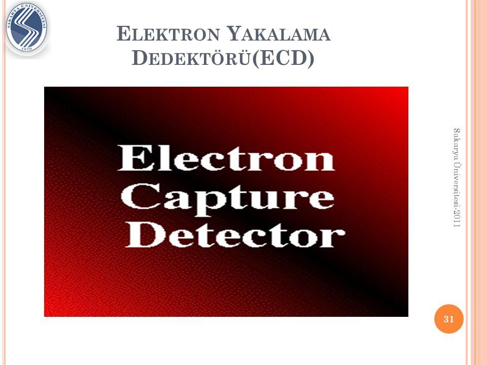 Elektron Yakalama Dedektörü(ECD)