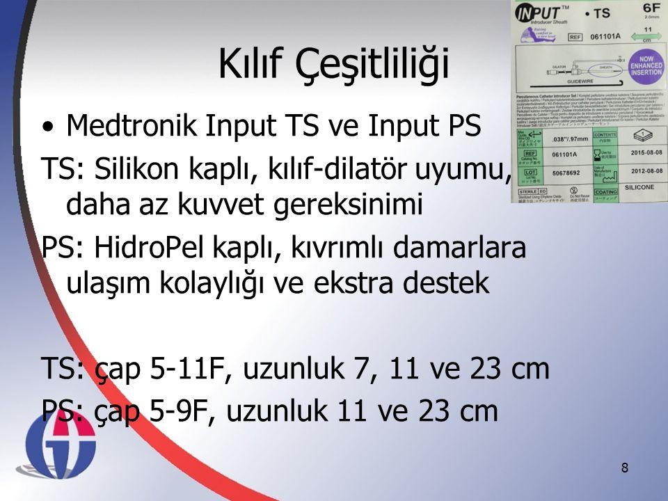 Kılıf Çeşitliliği Medtronik Input TS ve Input PS