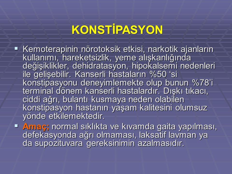 KONSTİPASYON