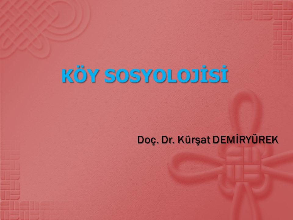 Doç. Dr. Kürşat DEMİRYÜREK