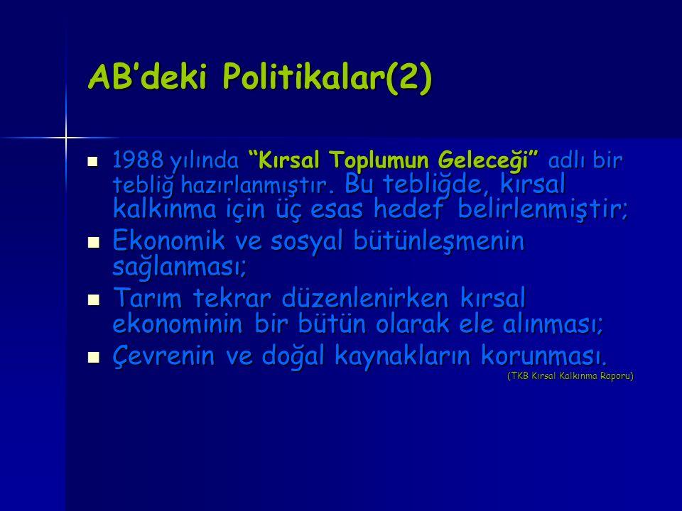 AB'deki Politikalar(2)