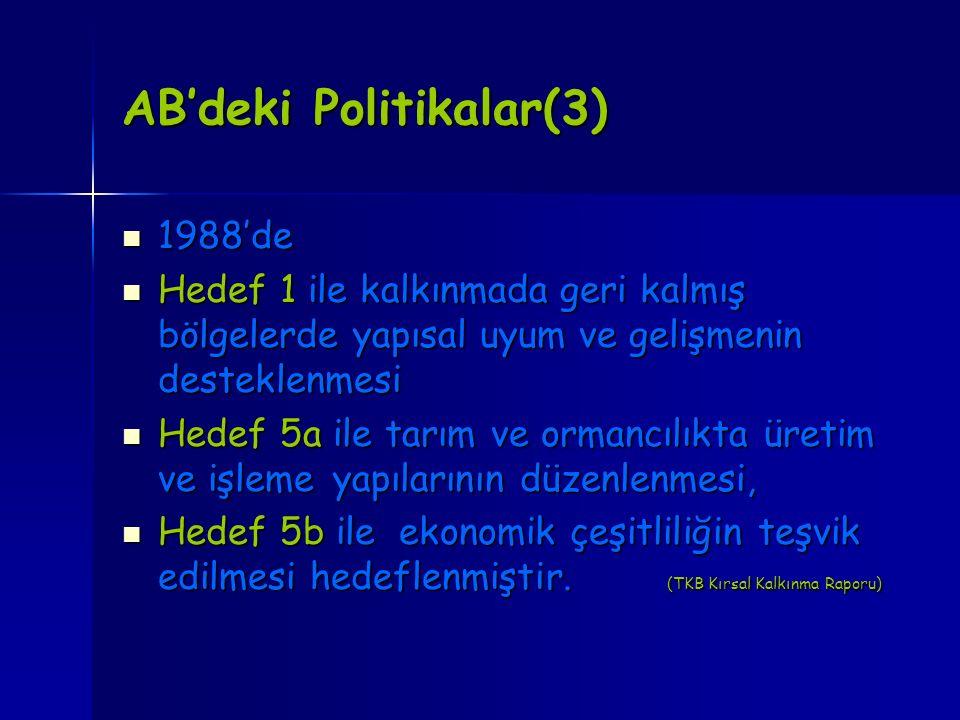 AB'deki Politikalar(3)