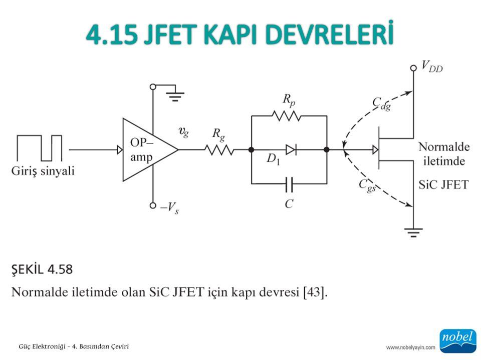 4.15 Jfet KapI Devrelerİ