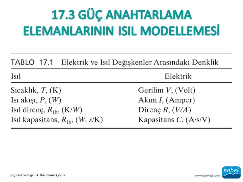 17.3 Güç Anahtarlama elemanlarININ ISIL Modellemesİ