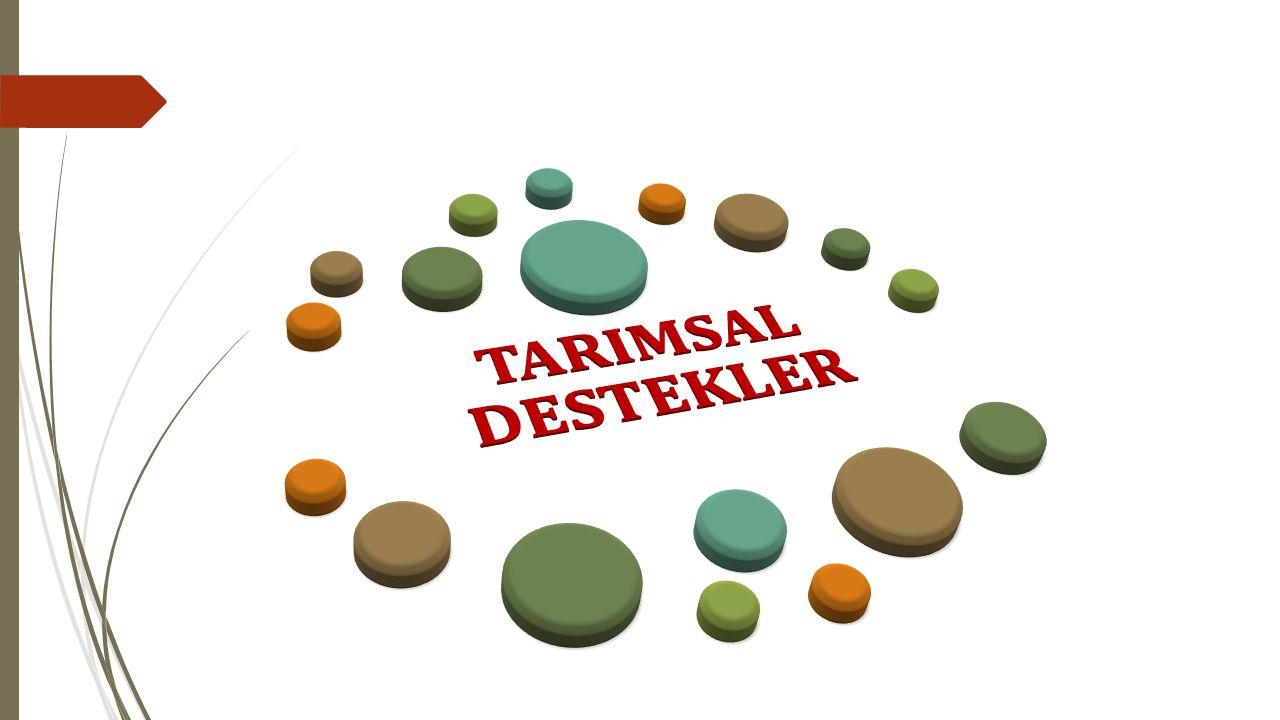 TARIMSAL DESTEKLER