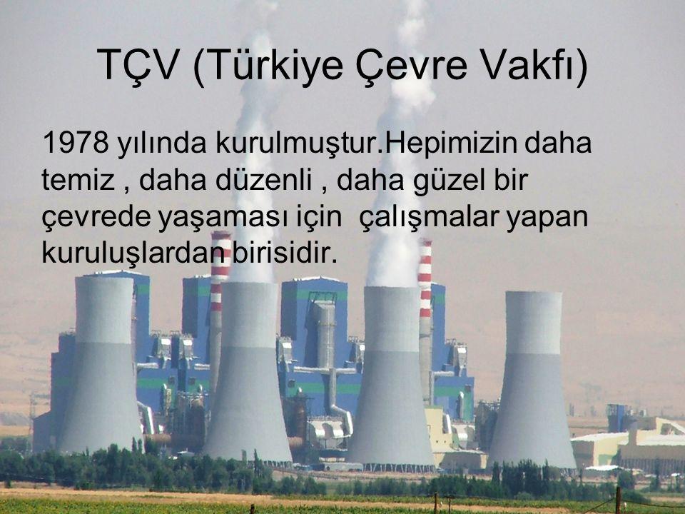 TÇV (Türkiye Çevre Vakfı)