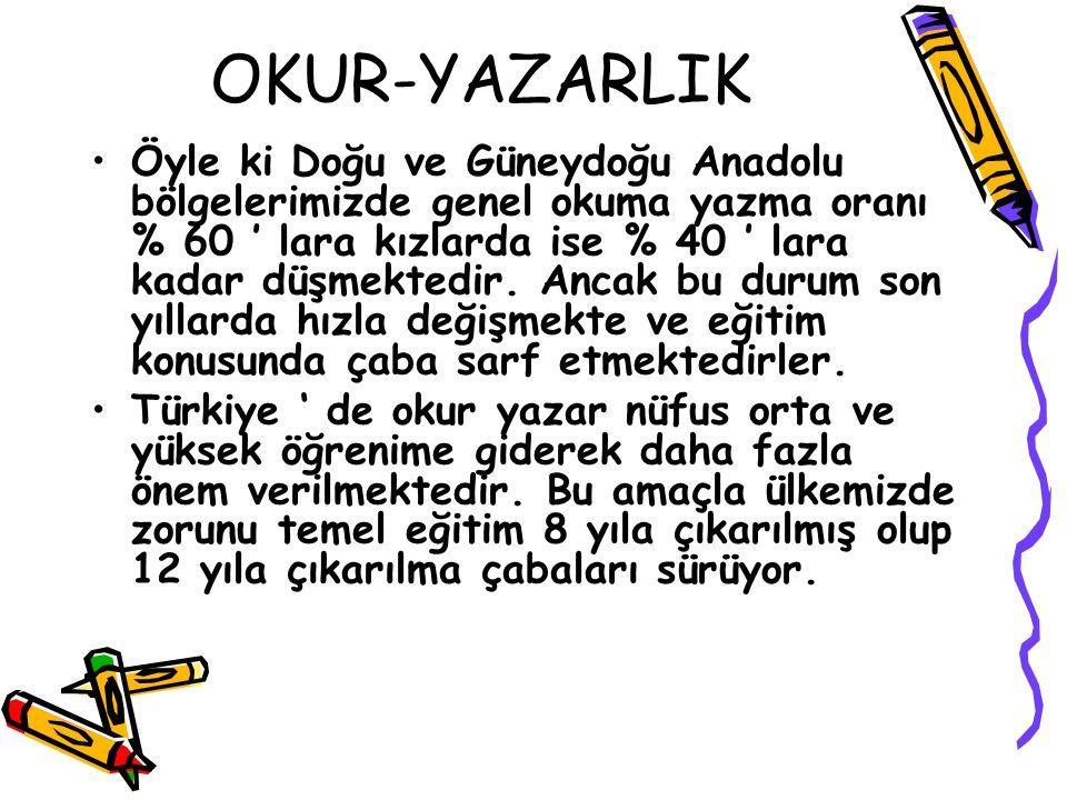OKUR-YAZARLIK