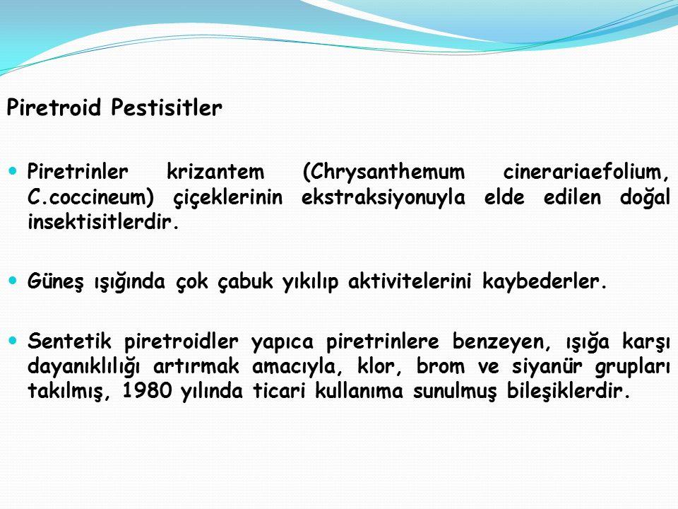 Piretroid Pestisitler
