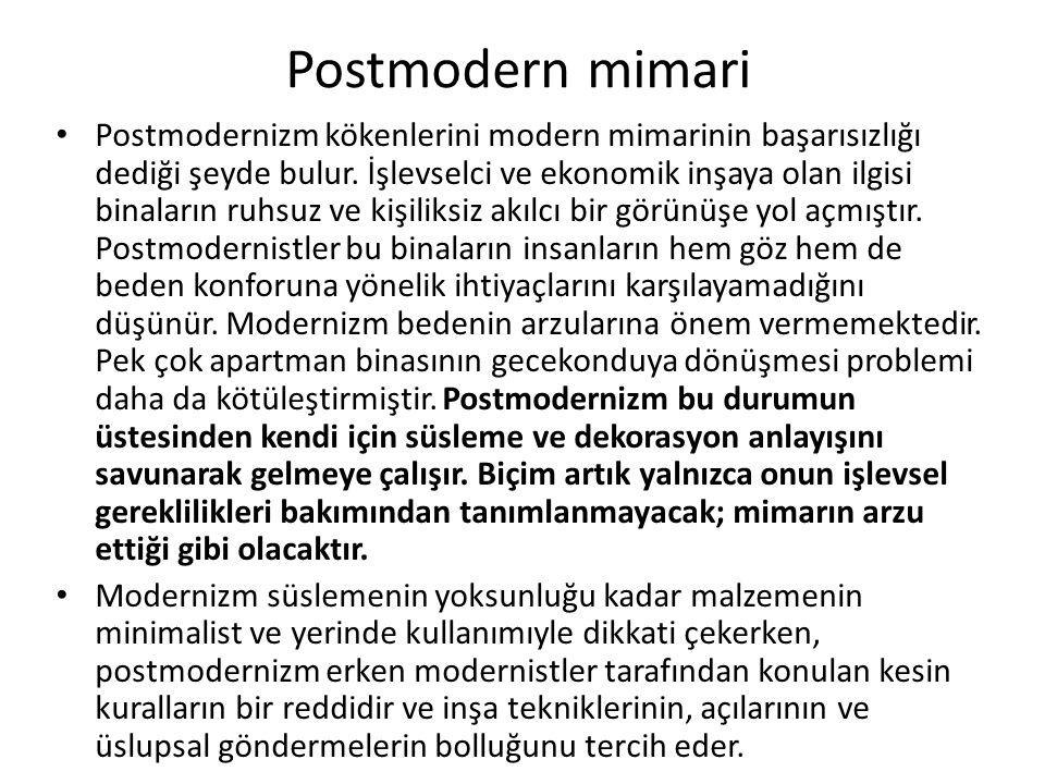 Postmodern mimari