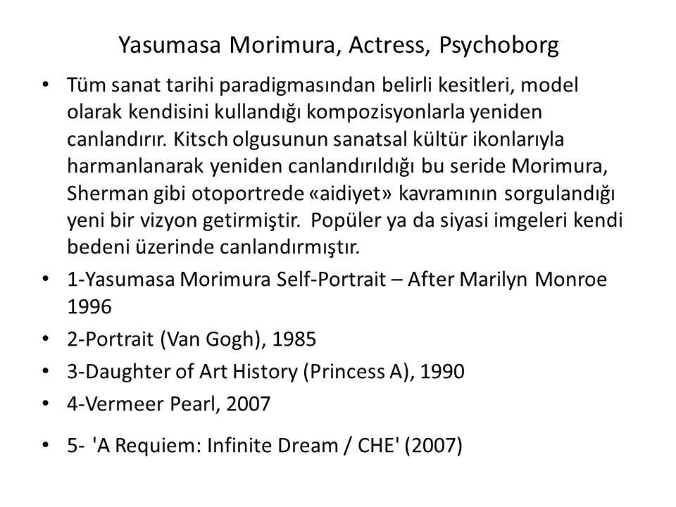 Yasumasa Morimura, Actress, Psychoborg