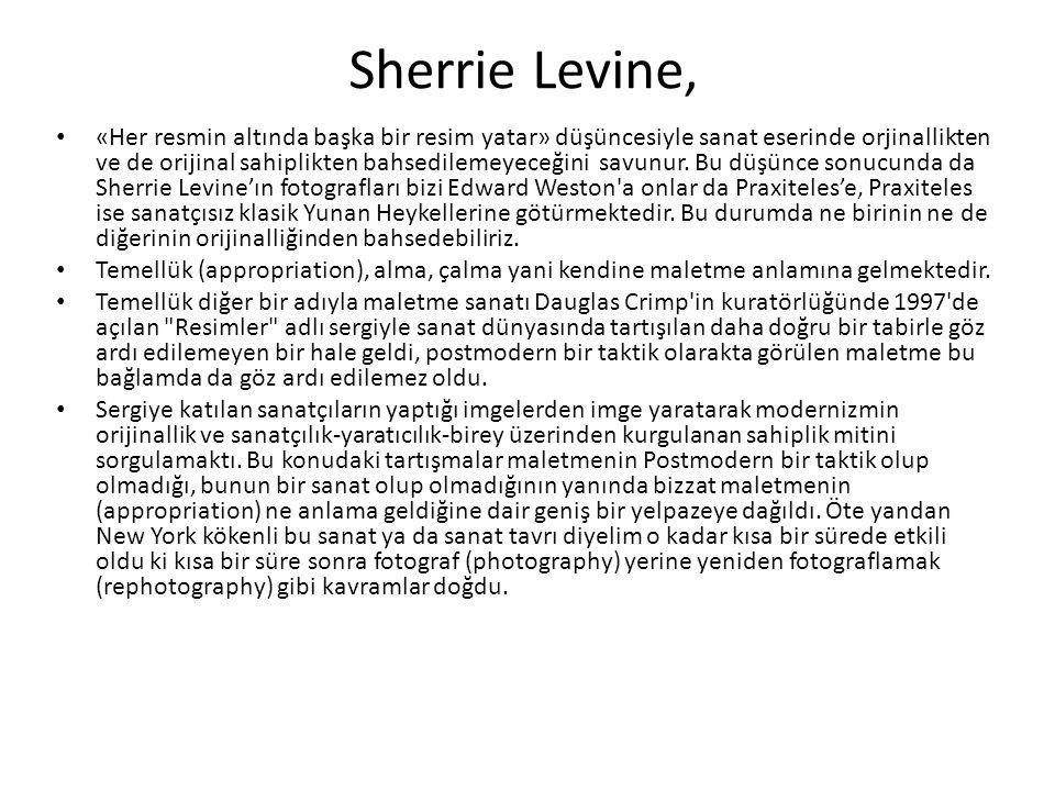 Sherrie Levine,