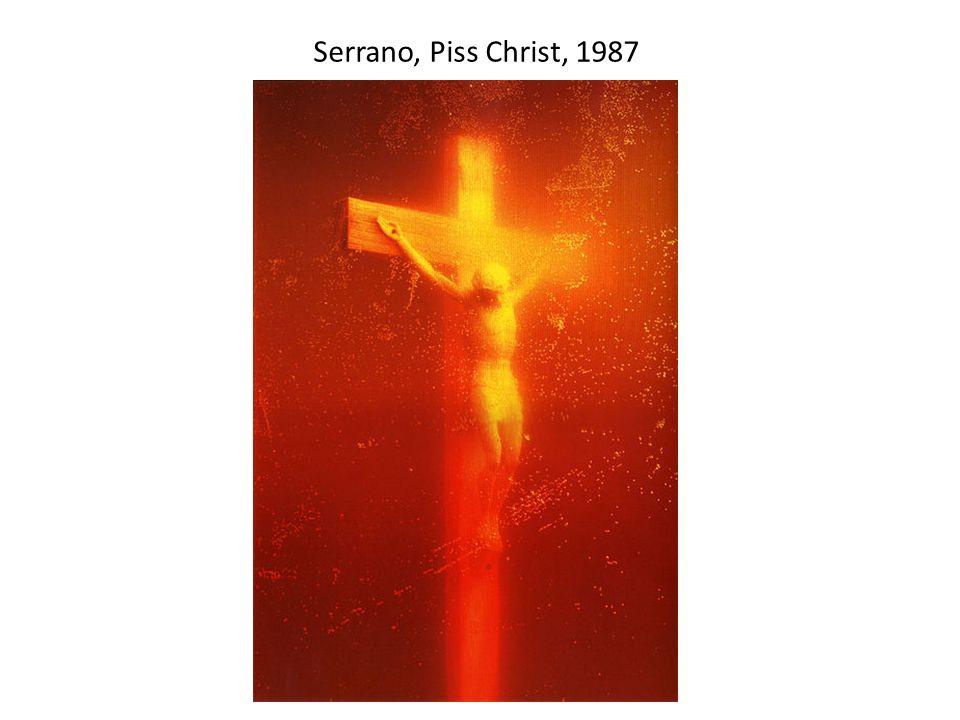 Serrano, Piss Christ, 1987