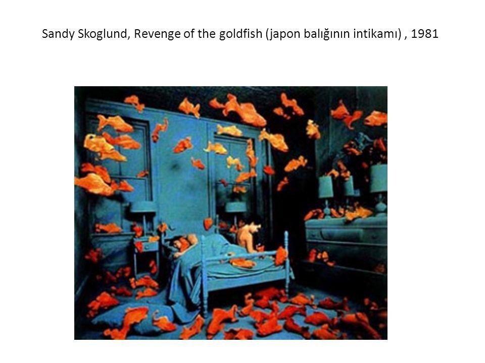 Sandy Skoglund, Revenge of the goldfish (japon balığının intikamı) , 1981