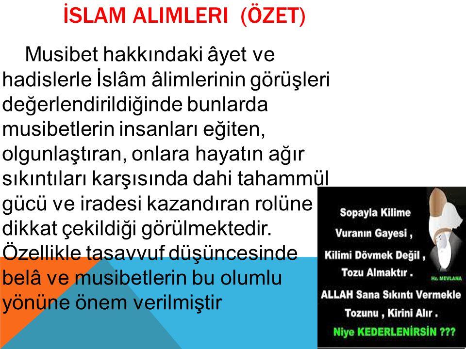 İslam alimleri (ÖZET)
