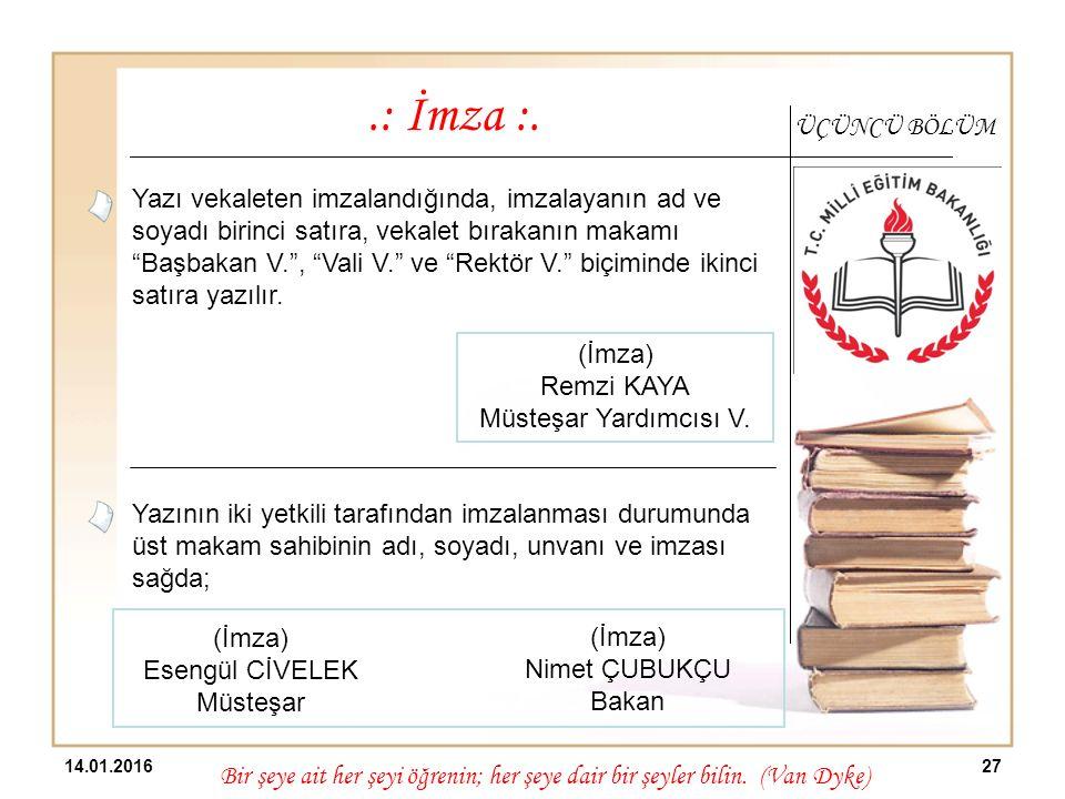 Esengül CİVELEK Müsteşar